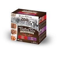 Assortiment de pâtés Tempting Trios Zoë au bœuf et à l'agneau, 4 contenants, 100 g (3,5 oz)