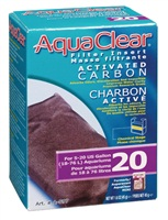 Charbon activé pour filtre AquaClear 20/Mini, 45g (1,6oz)