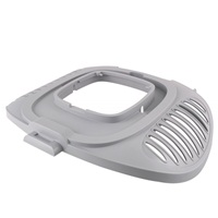 Toit pour cages de transport Paws 2 Go Living World, gris