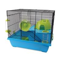 Cage Living World pour hamsters nains, Pad, L. 42,5 x l. 31 x H. 37 cm (16,7 x 12,2 x 14,5 po)