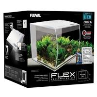 Aquarium équipé Flex Fluval, blanc, 34 L (9 gal US)