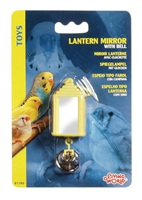 Miroir Living World en forme de lanterne avec clochette