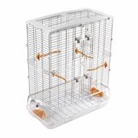 Cage Vision pour oiseaux de grande taille, modèle L12, haute, grillage large, 75 x 38 x 92,5 cm (29,5 x 15 x 36,5 po)