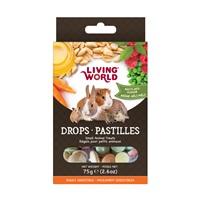 Régals Living World pour petits animaux, pastilles, arôme méli-mélo, 75 g (2,6 oz)
