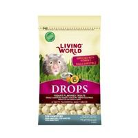 Régals Drops Living World pour hamsters, saveur de yogourt, 75g (2,6oz)