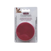 Brosse de toilettage Essentials Le Salon en caoutchouc pour chiens, rouge, 7,6 cm (3po)