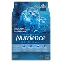 Aliment Nutrience Original, Chats adultes en santé, Saumon avec riz brun, 5 kg (11 lb)