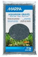 Gravier décoratif Marina, noir, 2kg (4,4lb)