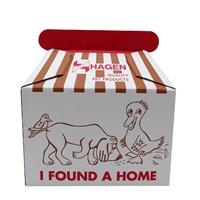 Boîte de transport Dogit en carton ondulé