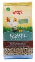 Aliment en granulés Healthy Timothy Living World pour cochons d'Inde, 1,8kg (4lb)