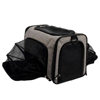 Sac de transport extensible Explorer Dogit, gris