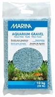 Gravier décoratif Marina, azurin, 10 kg (22 lb)