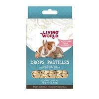 Régals Living World pour petits animaux, pastilles, arôme de yogourt, 75 g (2,6 oz)