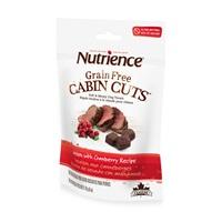 Régals pour chiens Grain Free Cabin Cuts Nutrience, Venaison aux canneberges, 170 g (6 oz)
