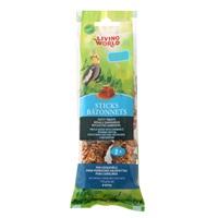 Bâtonnets Living World pour perruches calopsittes, saveur de miel, 112 g (4 oz), paquet de 2
