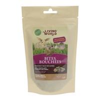 Bouchées Living World avec quinoa pour petits animaux, 50 g