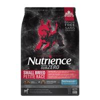 Aliment SubZero Nutrience Sans grains pour chiens de petite race, formulation Gibier des Prairies, 5 kg (11 lbs)