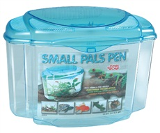 Habitat Small Pals Pen Living World, très grand, 12,57 L (3,3 gal US)