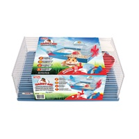 Habitat interactif Hamst-Air Living World pour hamster, 46 x 29,5 x 22,5 cm (18,1 x 11,6 x 8,9 po)
