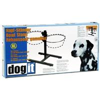 Support réglable Dogit pour bols, très grand, convient à 2bols de 4L (135ozliq.)