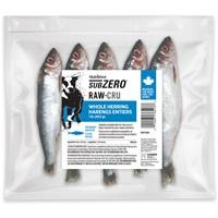 Aliment Nutrience SubZero Cru pour chiens, harengs entiers, 454 g (1 lb), paquet de 10