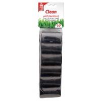 Sacs à déjections Dogit, 12 rouleaux de 20 sacs, noirs, 29,5 x 23 cm (11,6 x 9 po)