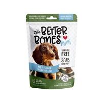 Os Better Bones Zeus, arôme de lait, os enrobés de poulet, paquet de 12
