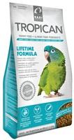 Aliment Lifetime Tropican pour perroquets, granulés de 4 mm, 820 g (1,8 lb)