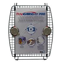 Porte avant en métal avec 2verrous pour cage de transport CargoDogitDesign, modèle700
