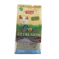 Aliment Extrusion Living World pour cochons d'Inde, 600 g (1,3 lb)