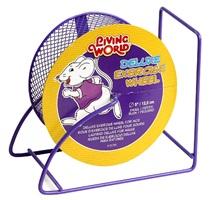 Roue d'exercice de luxe Living World pour souris, violette, 12,5cm (5po)