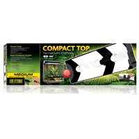 Couvercle avec éclairage Compact Top Exo Terra, 60 x 9 x 20cm (23,6 x 3,5 x 7,8po)