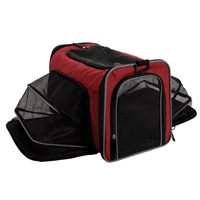 Sac de transport extensible Explorer Dogit, bordeaux