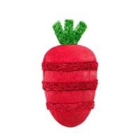 Jouet à gruger Nibblers Living World en bois et en luffa, fraise