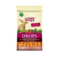 Régals Drops Living World pour lapins, saveur de carottes, 75g (2,6oz)
