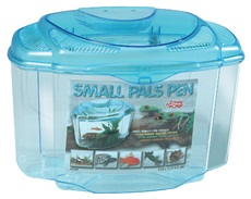 Habitat Small Pals Pen Living World, moyen, 4,44 L (1,17 gal US)