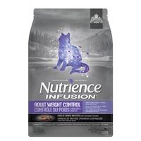 Aliment Nutrience Infusion pour chats adultes, Contrôle du poids, Poulet, 5 kg (11 lb)