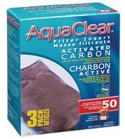 Charbon activé pour AquaClear 50/200, 210g (7,4 oz), paquet de 3