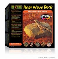 Pierre chauffante Heat Wave Rock Exo Terra, moyenne, 10 W, 15,5 x 15,5 cm (6 x 6 po)