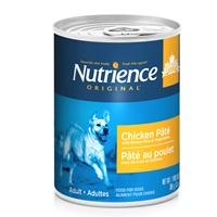 Pâté Nutrience Original pour chiens adultes, Poulet avec riz brun et légumes, 369g (13oz)