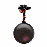 Bombe Bomber Zeus avec ampoule à DEL clignotante, noire, 17 cm (6,7po)
