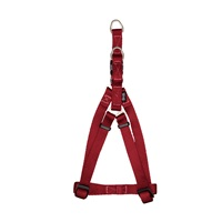 Harnais à fixation rapide Zeus en nylon, rouge, petit, 1 x 33-45cm (3/8 x 13-18 po)