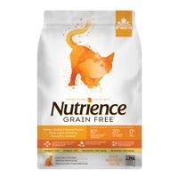 Aliment Nutrience Sans grains pour chats, Dinde, poulet et hareng, 1,13 kg (2,5 lbs)