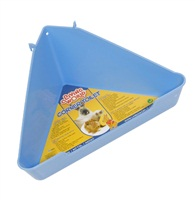 Coin-toilettes Living World pour hamster, bleu clair, moyen