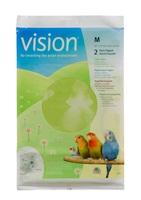 Papier pour cages Vision pour oiseaux, moyen, 575 x 340 mm (22,5 x 13 po), paquet de 2