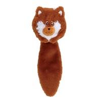 Jouet Stuffies Dogit pour chiens, boule en peluche animal de la forêt, renard, 32cm (12,5po)
