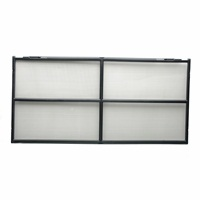 Couvercle grillagé Exo Terra pour terrariums en verre, 90 x 45 cm