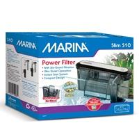 Filtre à moteur Slim Marina S10, pour aquariums jusqu'à 38L (10galUS)