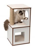 Meuble Box Catit Vesper, blanc, petit, 37 x 37 x 72,5 cm