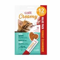 Régals crémeux Catit Creamy, Thon, paquet de 12